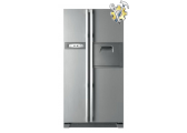 Стандартная установка холодильника типа SIDE BY SIDE