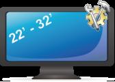 Установка телевизора (подвес и настройка) от 22 до 32 дюйма